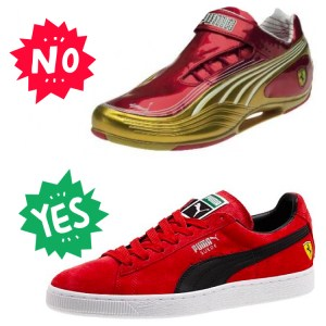 Puma Ferrari Shoes. You're finally doing it right!