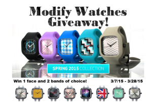Modify Watches Giveaway!