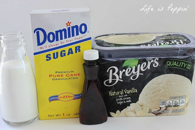 Copycat Starbucks Vanilla Bean Frappuccino Ingredients