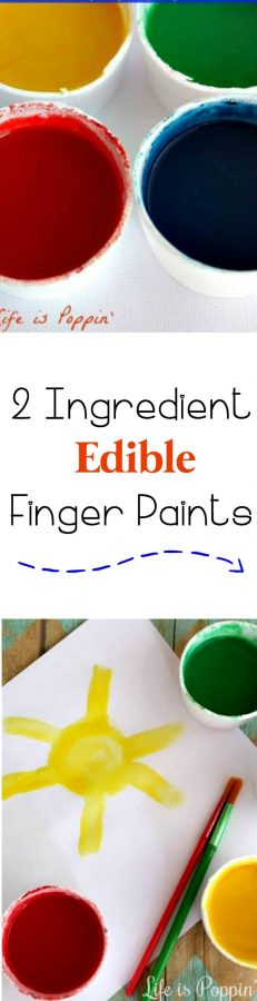 Finger-Paints-Edible