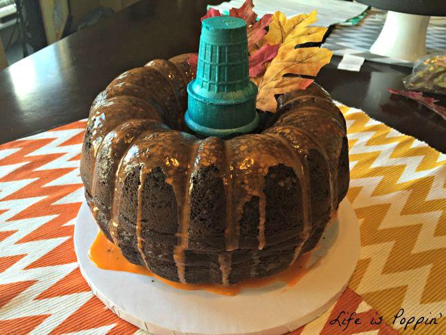 Pumpkin cake final