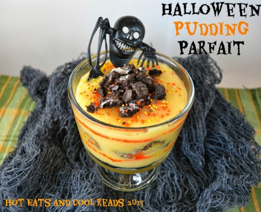 Halloween Pudding Parfait
