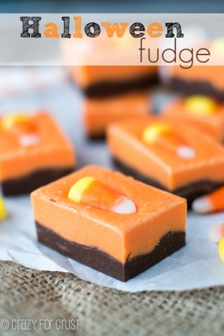 Halloween Fudge