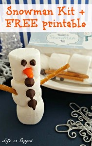 Build a snowman Kit with free printable