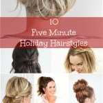 10 Five-Minute Holiday Hairstyles