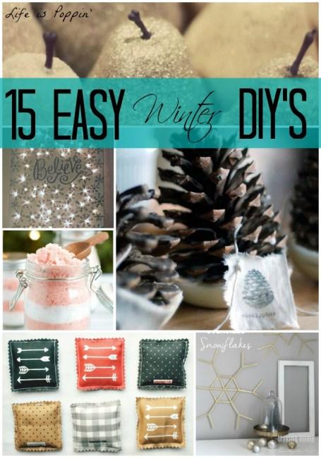 easy winter diys