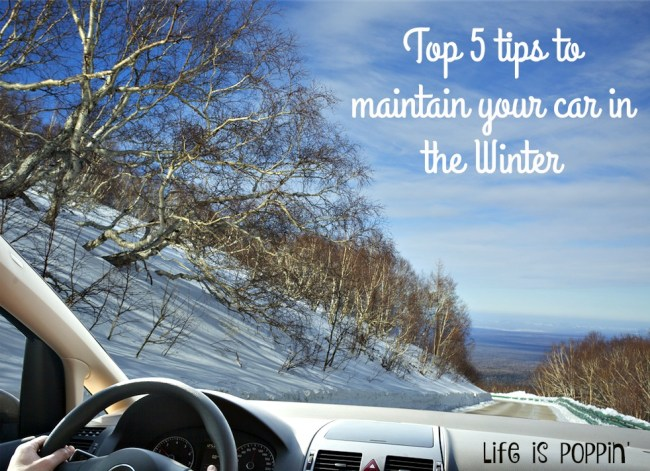 TOP FIVE TIPS TO MAINTAIN YOUR CAR IN THE WINTER