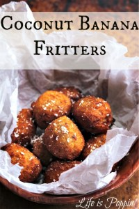 Coconut Banana Fritters Recipe