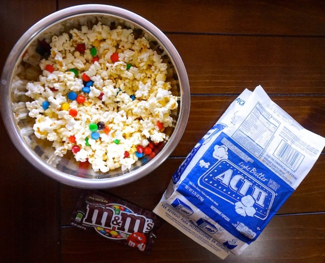 M&Ms Popcorn