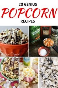 20 Genius Popcorn Recipes20 Genius Popcorn Recipes