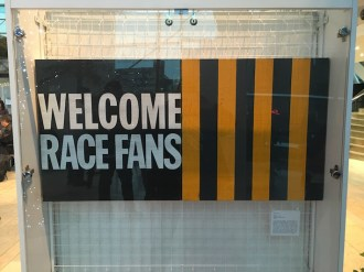 Welcome Race Fans