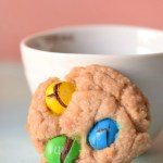 Oatmeal M&M Cookies