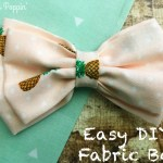Make Your Own Fabric Bows – Easily!