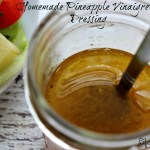 Homemade Pineapple Vinaigrette Dressing