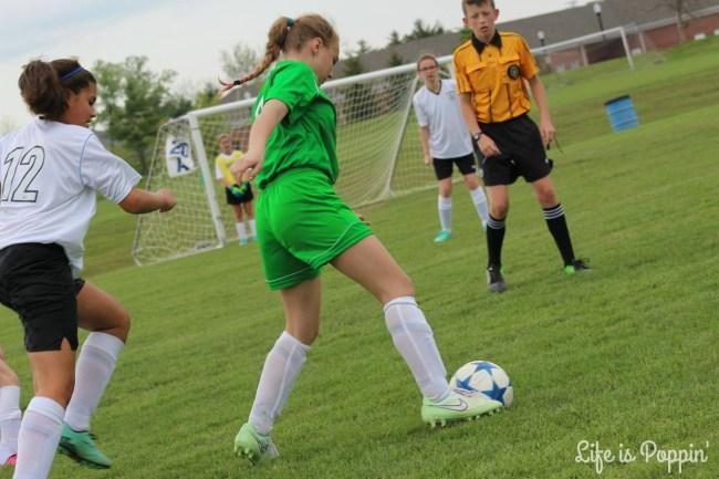 Nevaeh soccer 3