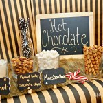 DIY Kid's Hot Chocolate Toppings Bar