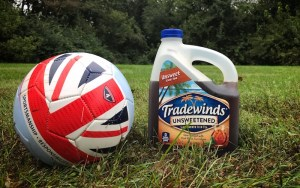 Savoring Soccer Sundays & Tradewinds Tea