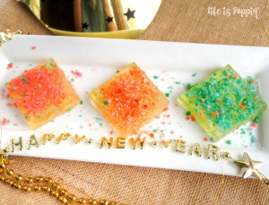 New Year's Poppin' Sparkling Juice Jigglers