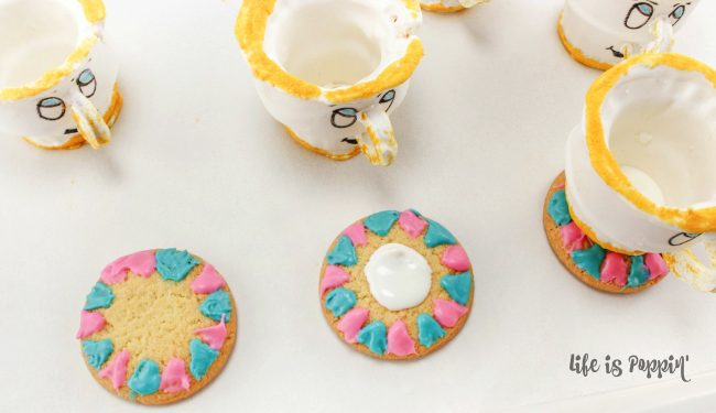 Disney Cookies - Beauty and the Beast