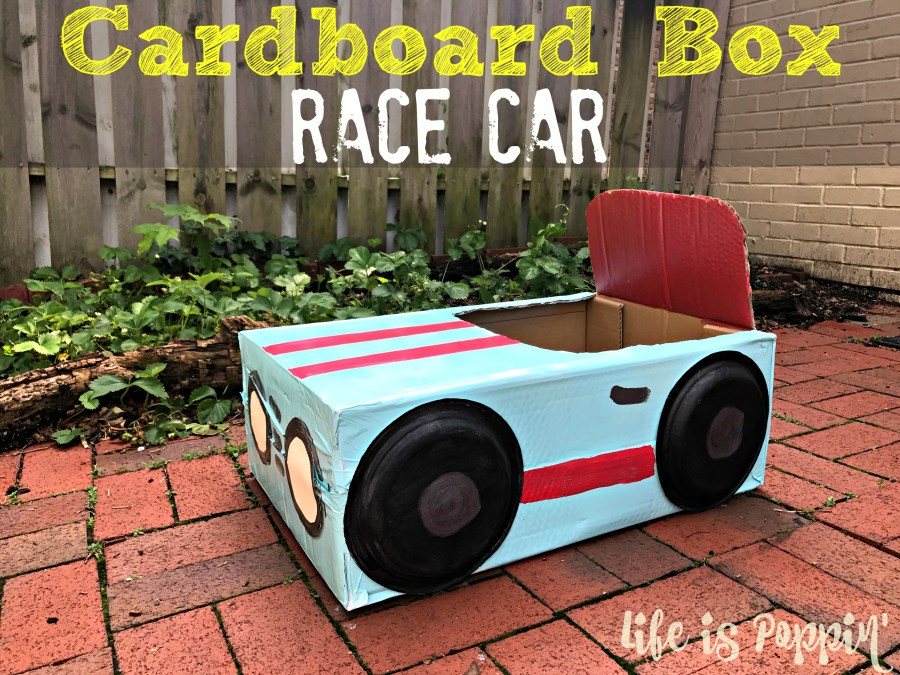 How to make a cardboard box car life is poppin 39 for 2 box auto profondo