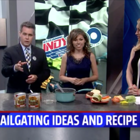 Tailgating Ideas and Recipe with Fox59