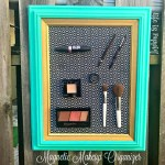 Life Hack – Magnetic Makeup Organizer