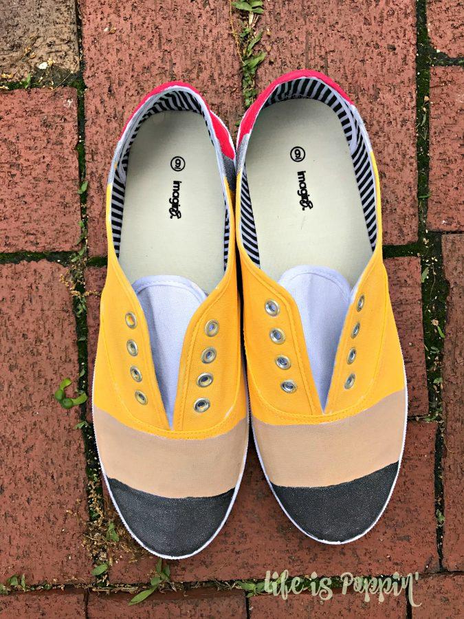 Pencil-painted-shoes