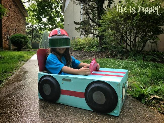 Race-car-cardboard-box