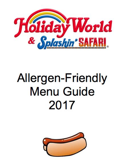 Holiday-world-menu