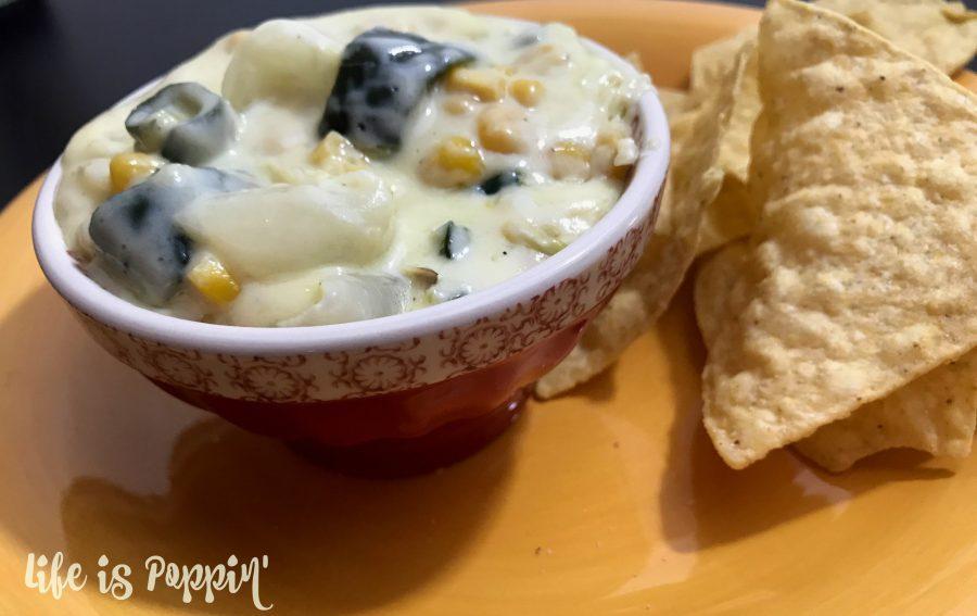Rajas con queso - Dip