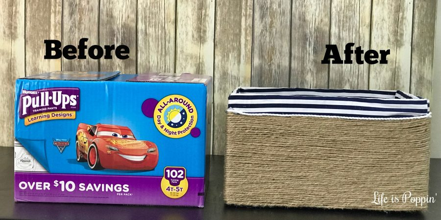 Before-After-Huggies-Box