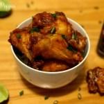 Receta de Alitas de Pollo con Salsa Picante y Miel