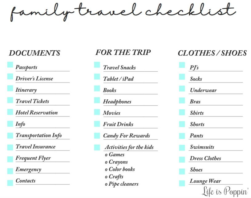 Family-Travel-Checklist-Printable