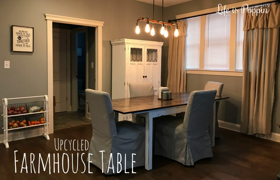 upcycled-Farmhouse-table