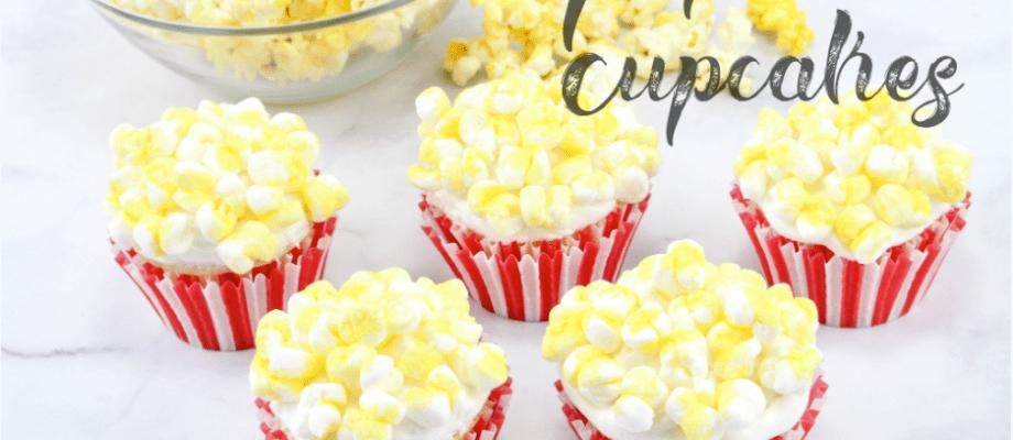 Easy-Peasy Popcorn Cupcakes