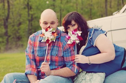 Carnival Themed Engagement Photo | Life Is Sweet As A Peach
