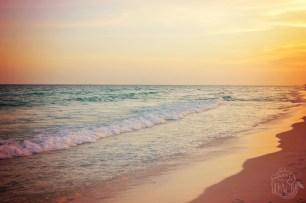 Destin Florida Beach Sunset   Life Is Sweet As A Peach