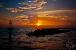 Sunset Over Destin Harbor   Life Is Sweet As A Peach