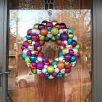 Rainbow Ornament Wreath | Life Is Sweet As A Peach