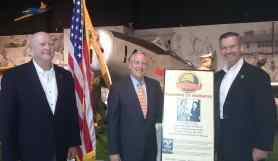 Col Barefield, Gen Burford, (Speaker Personal Leadership for Patriots), Dr. Dyson Southern Museum of Flight