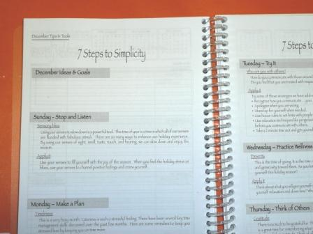 Simply Put Together Self Help Planner Organizer