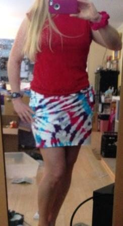 Short Wrap Skirt 2