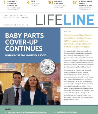 Lifeline Newsletter – LIFE LEGAL DEFENSE FOUNDATION