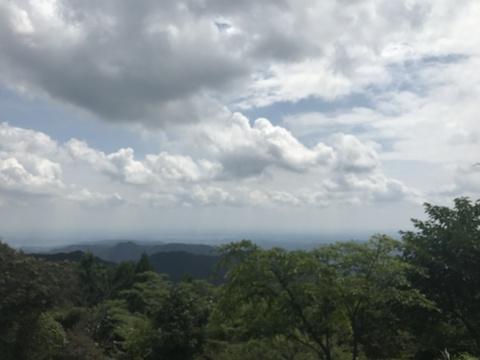 関八州見晴台の眺望