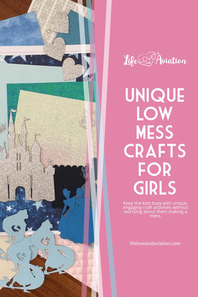 Unique Low Mess Craft Activity for Girls