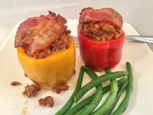 phenomenal stuffed bell peppers lifeloveandblog