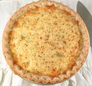 easy zucchini pie whole pie lifeloveandblog