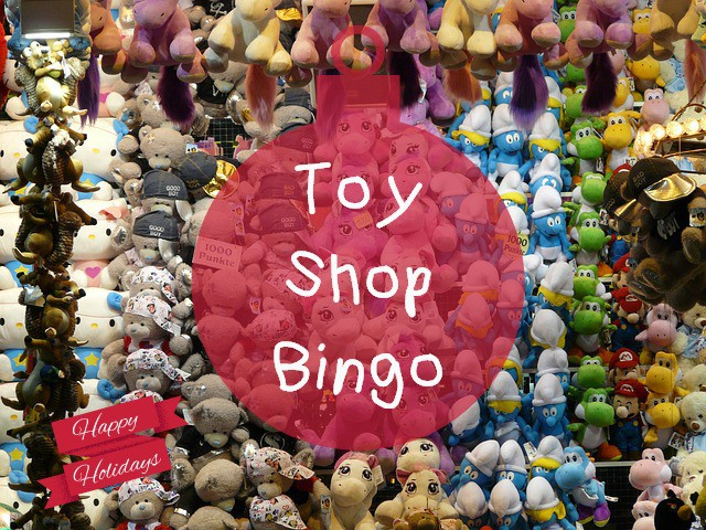 Toy Shop Bingo Game