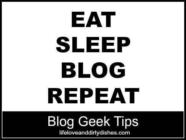 Blog Geek Tips Logo: East Sleep Blog Repeat