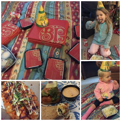 Boston Pizza Picnic Collage